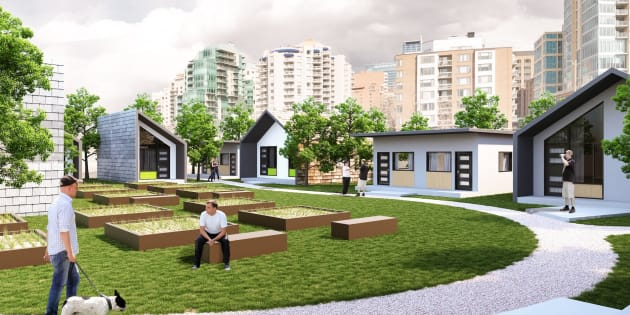 An artist rendering of the community set to open in Calgary next spring.