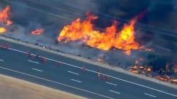 Ces gigantesques feux ont déjà détruit des centaines de milliers d'hectares dans l'Ouest