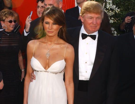 Melania Trump went to the Emmy Awards twice