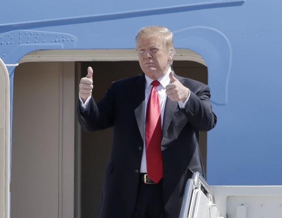 Trump weighs in on 2020 presidential race