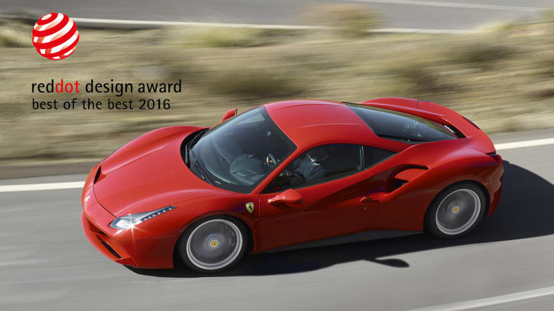 Can T Decide Whether The Ferrari 488 Gtb Looks Better Than 458 Italia It Replaces A Design Jury Has Make Up Its Mind 2016 Red Dot Awards