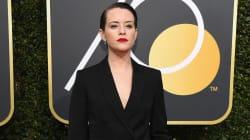 Aux Golden Globes, Claire Foy de