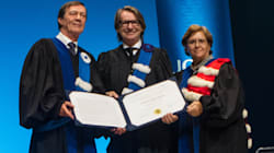 Réjean Thomas reçoit un doctorat honorifique de