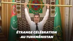 Au Turkménistan, le président fait de l'haltérophilie devant ses