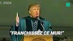 Trump doit bien regretter ce conseil de 2004 sur les