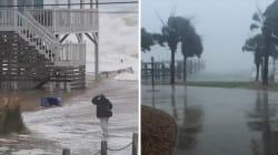 Les premières conséquences de l'ouragan Florence se font déjà ressentir en Caroline du