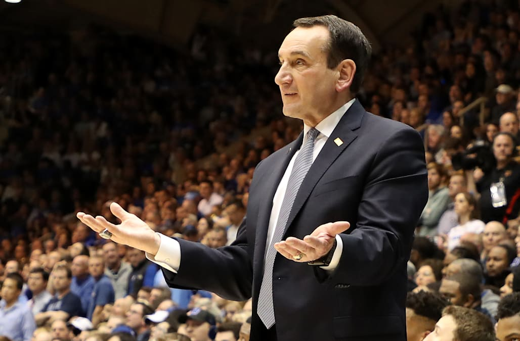Video Of Coach K S Postgame Handshake With Roy Williams Is
