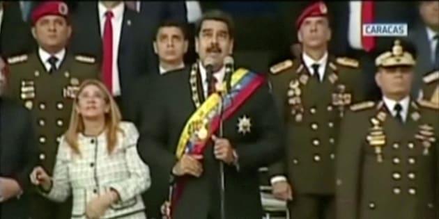Venezuela: six personnes arrêtées après l'attaque contre Nicolas Maduro.