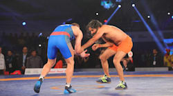 Baba Ramdev's Wrestling Tackles Leave Olympic Silver Medalist Flat On The