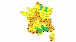 36 départements en vigilance orange pour risques de neige, verglas, avalanches ou vents