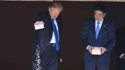 Au Japon, Trump a-t-il perdu patience avec des