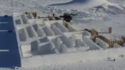 Massive Manitoba Snow Maze Aims To Break World