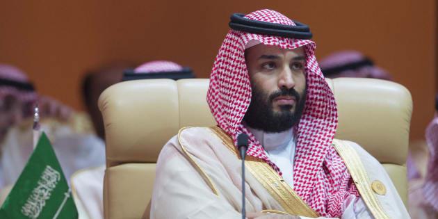 Mohammed Ben Salman, le prince saoudien, le 15 avril 2018