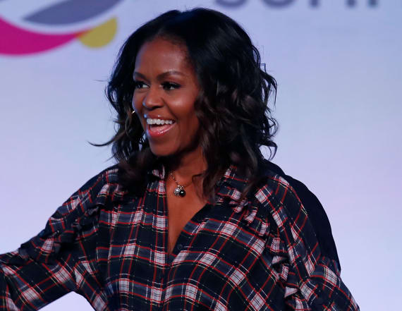 Michelle Obama rocks a white-hot bikini in Miami