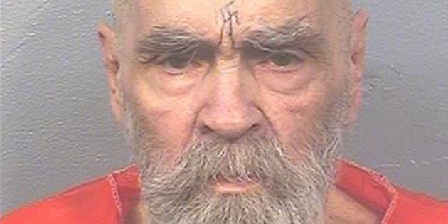 Charles Manson dans sa prison de Corcoran, en Californie, en août.