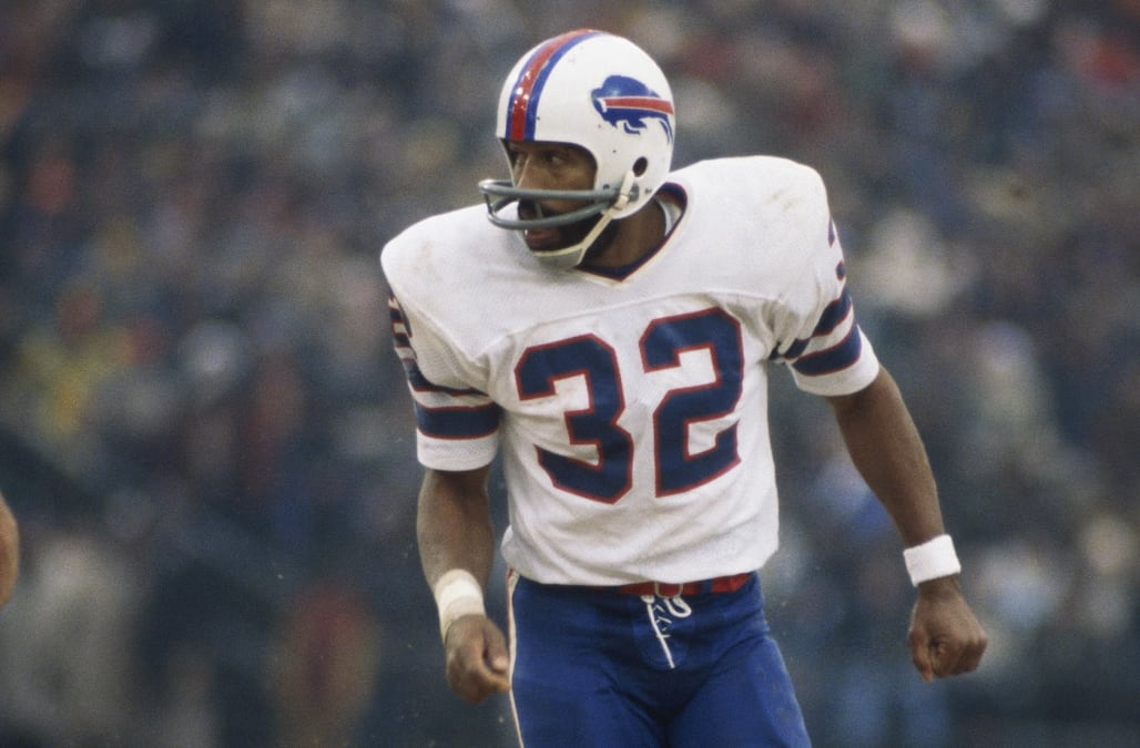 3ae39876621 Bills allow player to wear No. 32 jersey for first time since O.J. Simpson  wore it