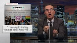 John Oliver Sends Australia Advice On Gay Marriage, And His Hopes For Lovers Mark And