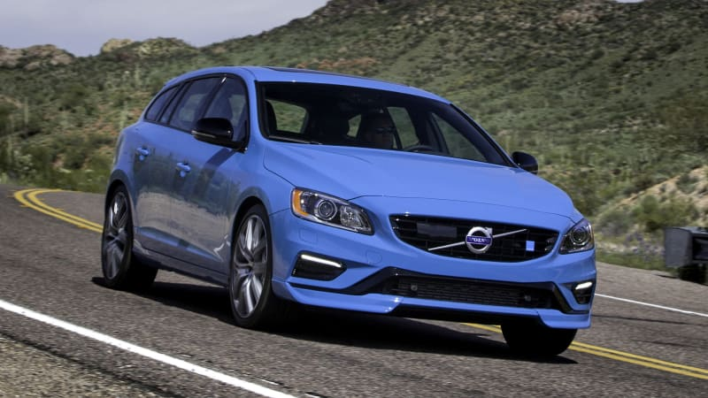 Volvo V60 Polestar Review Driving The Twincharged Swedish Er Autoblog
