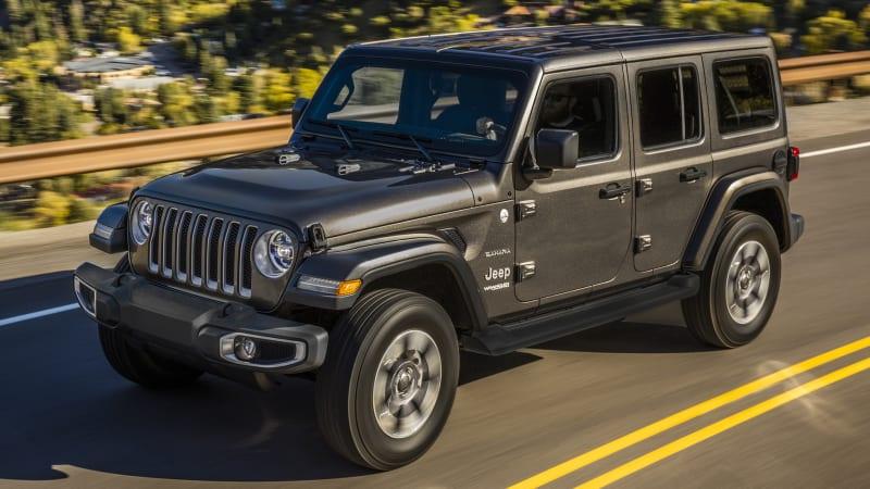 2017 Jeep Wrangler Mpg >> 2018 Jeep Wrangler Turbo Four Cylinder Mileage Announced Autoblog