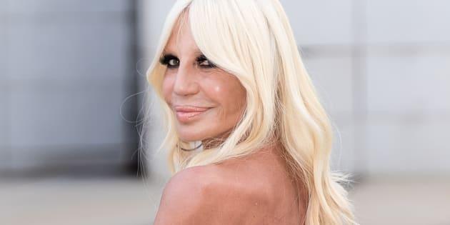 """Donatella Versace: """"Sono stata una madre strana. Mio fi"""