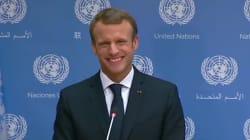 Après son discours à l'ONU, Macron