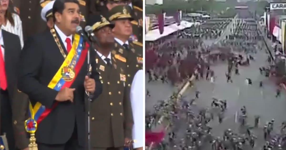 """Résultat de recherche d'images pour """"Venezuela, explosions pendant un discours de Maduro, 2018"""""""