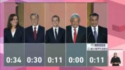 VIDEO: Las mejores frases del primer debate presidencial