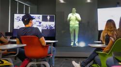 Ahora clases con hologramas en el Tec de