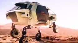 VIDEO: Un vehículo que camina, una de las novedades en el