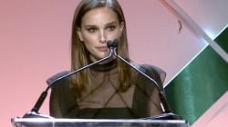 Natalie Portman llama a las mujeres a la