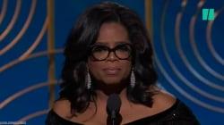 VIDEO: El poderoso Y emotivo discurso de aceptación de Oprah en los Golden