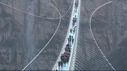 VIDEO: Este es el puente de fondo de cristal más largo del