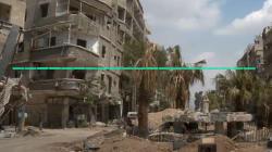 VIDEO: Para este sirio sobreviviente de un ataque de gas sarín, esto debería pasar ahora en su