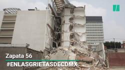 Zapata 56: una mala construcción, prófugos, 2 madres muertas y 18 familias