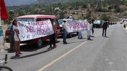 La caravana que busca frenar un cuestionado proyecto minero en la sierra norte de