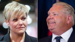 La ministre québécoise de l'Environnement a Doug Ford à