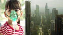 VIDEO: El aire en México no es apto para los pulmones de niñas ni