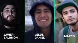 VIDEO: Ellos eran Javier Salomón, Jesús Daniel y Marco, los estudiantes asesinados en