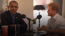 VIDEO: El detrás de cámaras de la entrevista del príncipe Harry a Barack