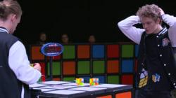 VIDEO: ¿Cuánto tiempo tardas en desesperarte con un cubo de Rubik?, ellos lo resuelven en