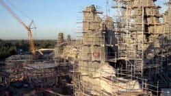 Le monde de «Star Wars» prend forme à Disneyland, et c'est