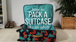 Watch: The Smartest Way To Pack A