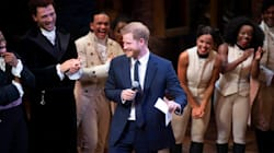 Prince Harry Gets On Stage At 'Hamilton,' Proves He's A