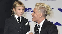 Pink's Kid Goes To Work With Mom, Belts Out Impressive
