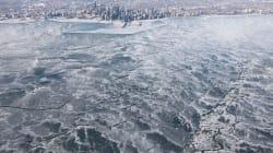Des clichés incroyables de la vague de froid autour du
