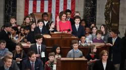 米議会、子どもたちも参加 下院議長・ペロシ氏が開会宣言「全てのアメリカの子どもたちを代表して…」
