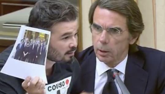 La bronca completa entre Aznar y