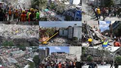 VIDEO: Imágenes aéreas que recuerdan la catástrofe del 19S un año
