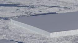 El nuevo descubrimiento de la NASA: un iceberg