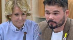 Los rifirrafes más tensos de Esperanza Aguirre y Gabriel